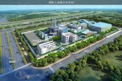咸阳新兴纺织工业园分布